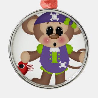 Monkey Pirate Ornament