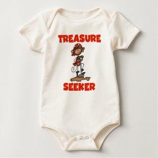 Monkey Pirate Treasure Seeker Tshirts and Gifts