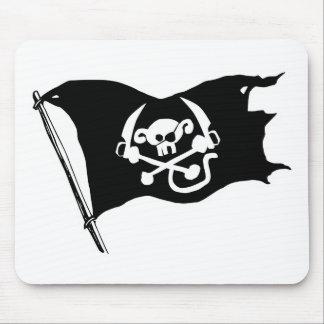 Monkey Pirates Flag Mouse Pad