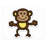 monkey post cards