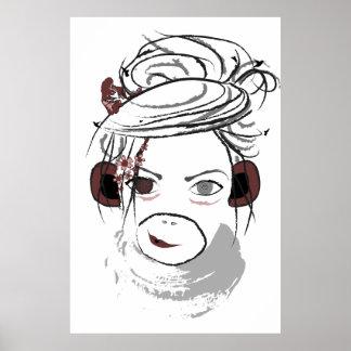 monkey. poster