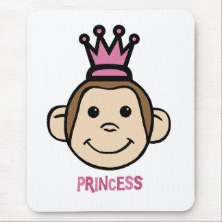 Monkey Princes Mouse Pad