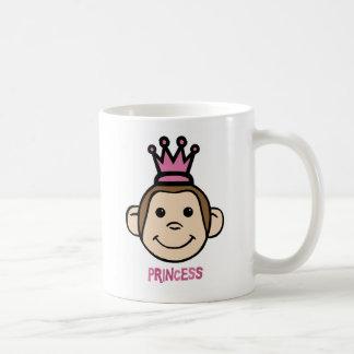 Monkey Princes Classic White Coffee Mug