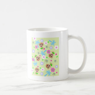monkey print  allover coffee mug