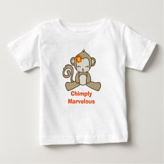 Monkey Pun Funny Saying With Cute Monkey Baby T-Shirt