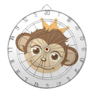 Monkey Queen Dartboard