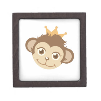 Monkey Queen Keepsake Box