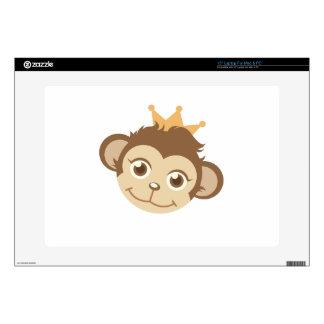 Monkey Queen Laptop Decal