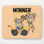 Monkey Racers Tshirts and Gifts Mouse Pad