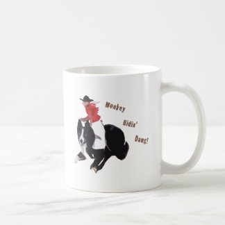 Monkey Ridin' Dawg Coffee Mug