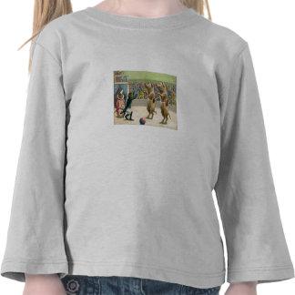 Monkey Ringmaster and Circus Pigs T-shirts