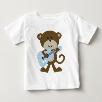Monkey Rocker/Rockstar Baby T-Shirt