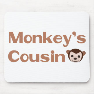Monkey s Cousin Mouse Pads