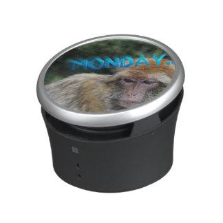 Monkey sad about monday bluetooth speaker