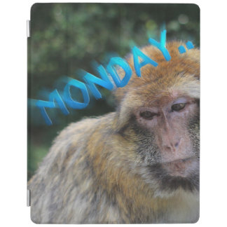 Monkey sad about monday iPad smart cover