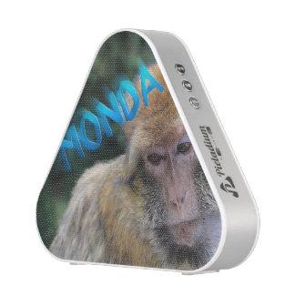 Monkey sad about monday speaker