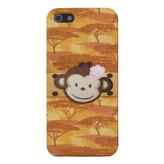 Monkey Safari iPhone SE/5/5s Case