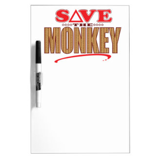 Monkey Save Dry-Erase Board