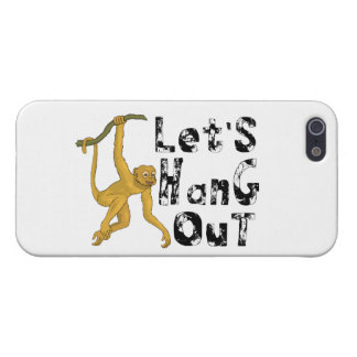 Monkey Says Let's Hang Out iPhone SE/5/5s Case