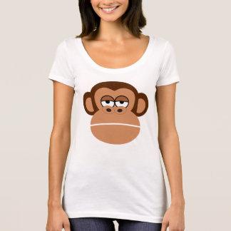 MONKEY  Scoop Neck T-Shirt