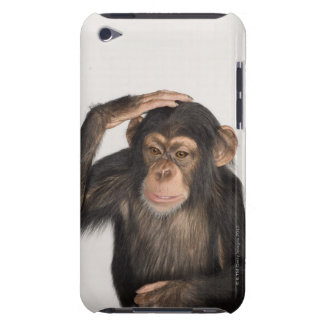 Monkey scratching its head iPod touch Case-Mate case