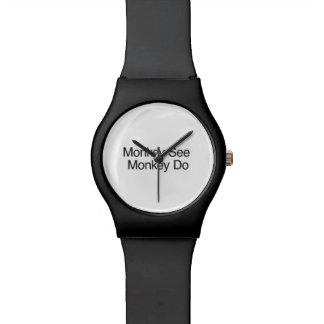 Monkey See Monkey Do.ai Wrist Watch