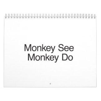 Monkey See Monkey Do.ai Calendar