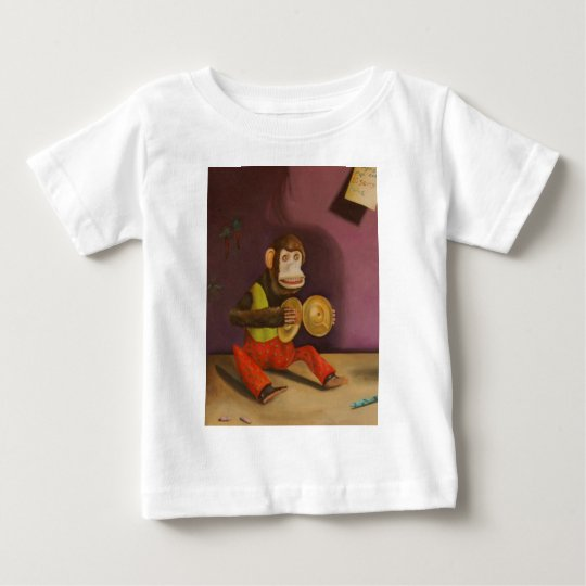 Monkey See Monkey Do Baby T-Shirt