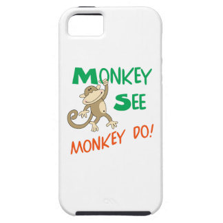 MONKEY SEE MONKEY DO iPhone 5 COVER