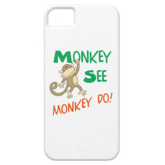 MONKEY SEE MONKEY DO iPhone 5 COVERS