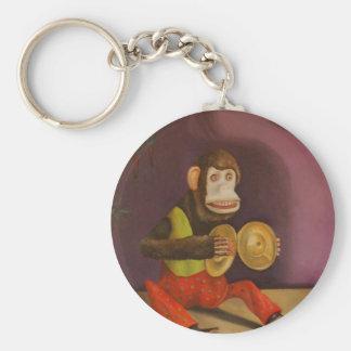 Monkey See Monkey Do Keychain