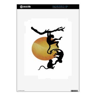 Monkey See Monkey Do Skins For The iPad 2