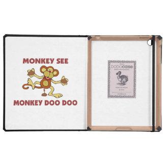 Monkey See Monkey Doo Doo iPad Cases
