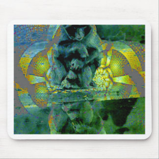 MONKEY SEE MOUSE PAD