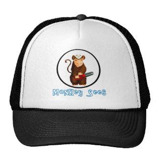 Monkey Sees Trucker Hat