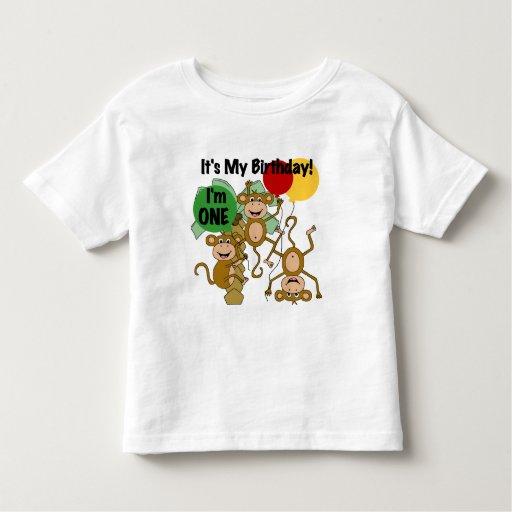Monkey Shine 1st Birthday T-shirts and Gifts