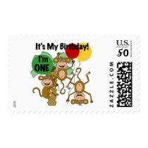 Monkey Shine 1st Birthday Tshirts and Gifts Postage