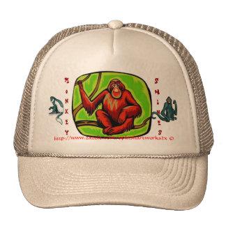 Monkey Shines ballcap Trucker Hat