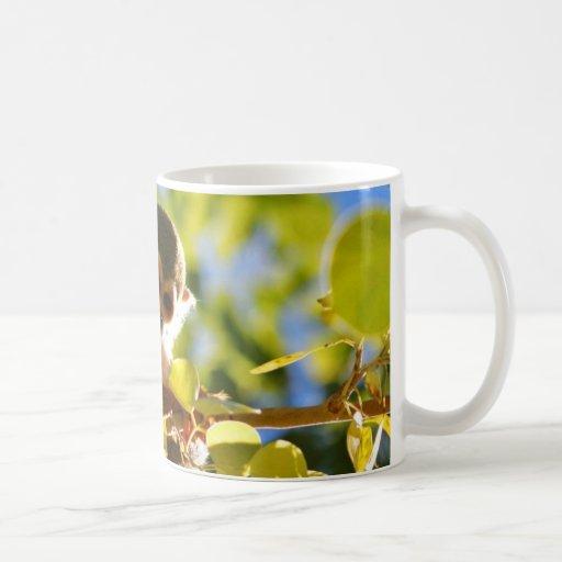Monkey Shines Classic White Coffee Mug