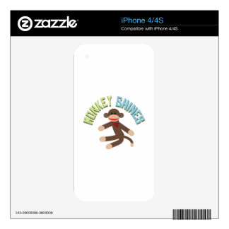Monkey Shines iPhone 4S Skin