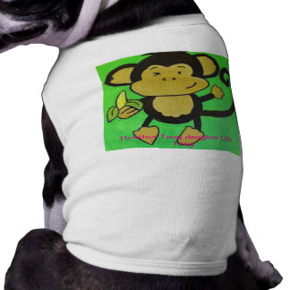 monkey shirt for dogs medium