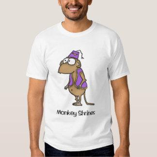 monkey shrines t-shirt