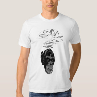 monkey sign tshirt by rogers bros
