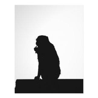 Monkey  Silhouette Flyer