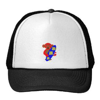 Monkey Skater Boy Trucker Hat
