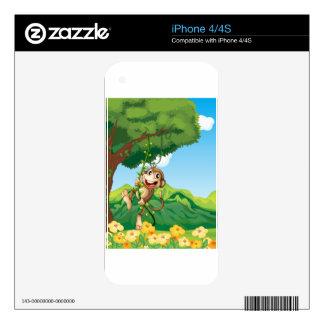 Monkey Skins For iPhone 4S