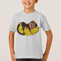 Monkey Sleepy T-Shirt