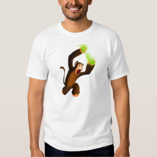 Monkey Slinging Poison Poo T-shirt
