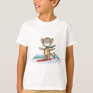 Monkey Snowboarder T-Shirt