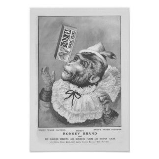 Monkey Soap Poster